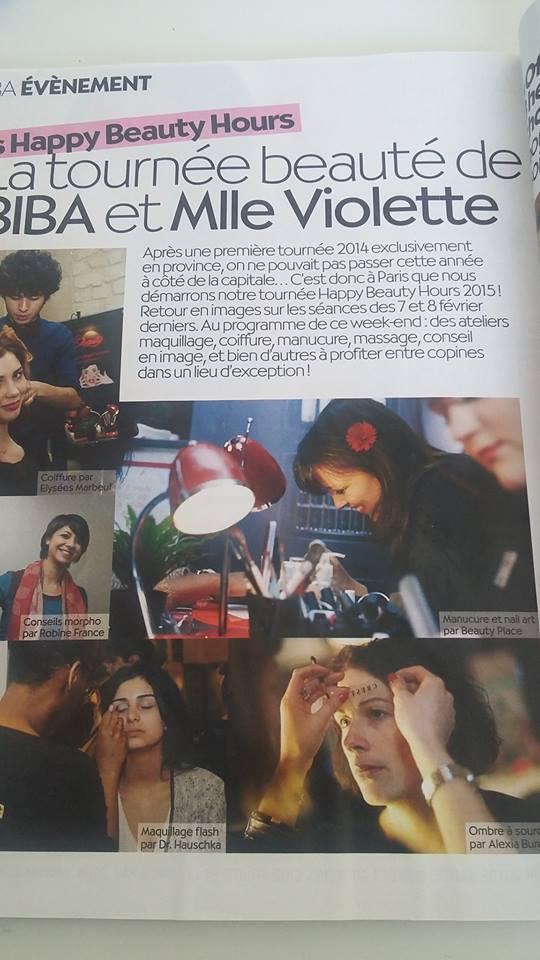 Biba Mai 2015 article